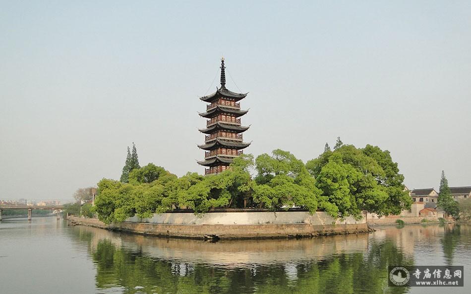 上海青浦区万寿塔-寺庙信息网