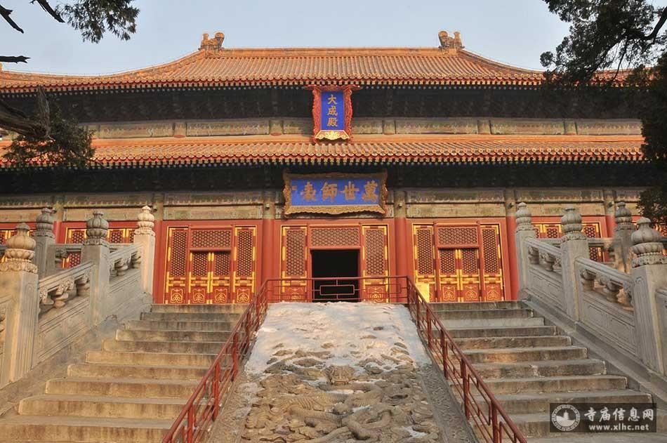 北京孔庙(先师庙)-寺庙信息网
