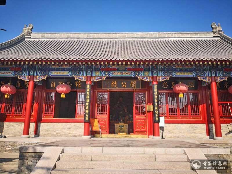 北京怀柔区雁栖关公庙-寺庙信息网