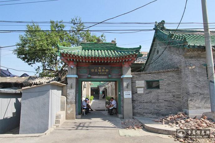 北京朝阳区八里庄清真寺-寺庙信息网