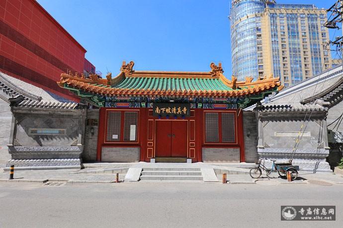 北京朝阳区南下坡清真寺-寺庙信息网