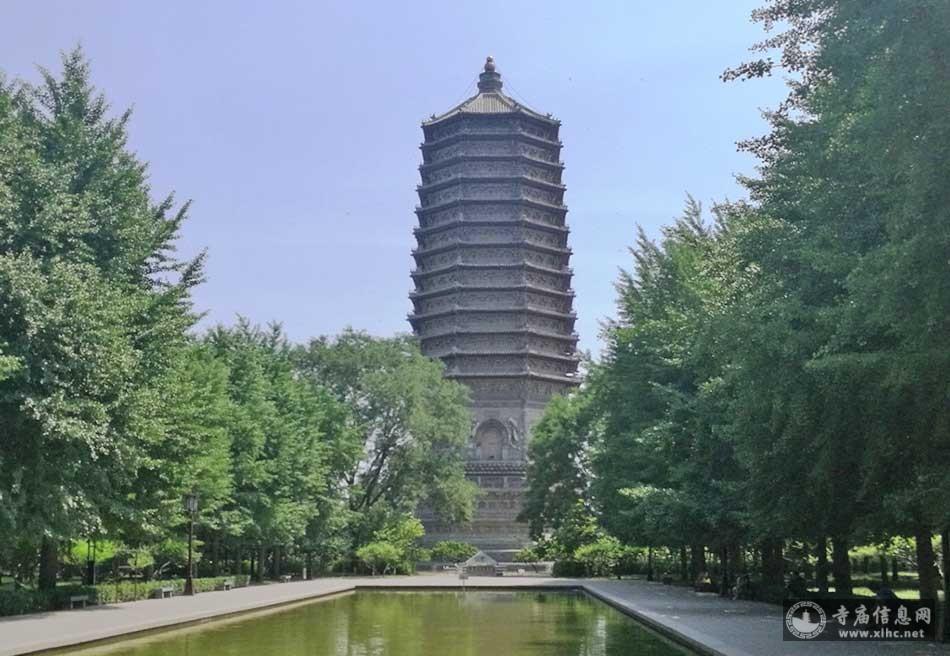 北京海淀区慈寿寺塔(永安万寿塔)(玲珑塔)-寺庙信息网