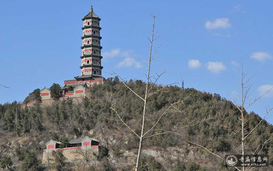 北京海淀区玉泉山玉峰塔-寺庙信息网