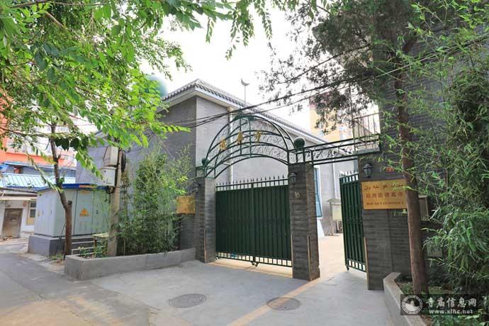 北京西城区后河沿清真寺-寺庙信息网