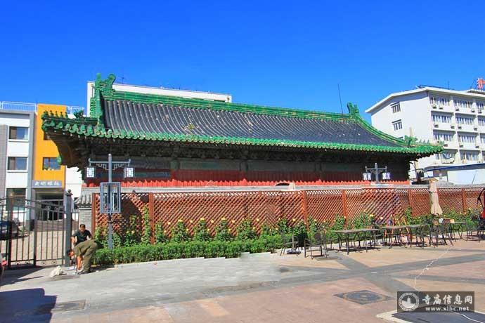 北京西城区护国寺金刚殿(护国寺)-寺庙信息网