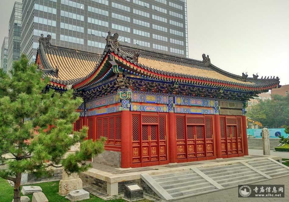 北京西城区都城隍庙(都城隍庙后殿)-寺庙信息网