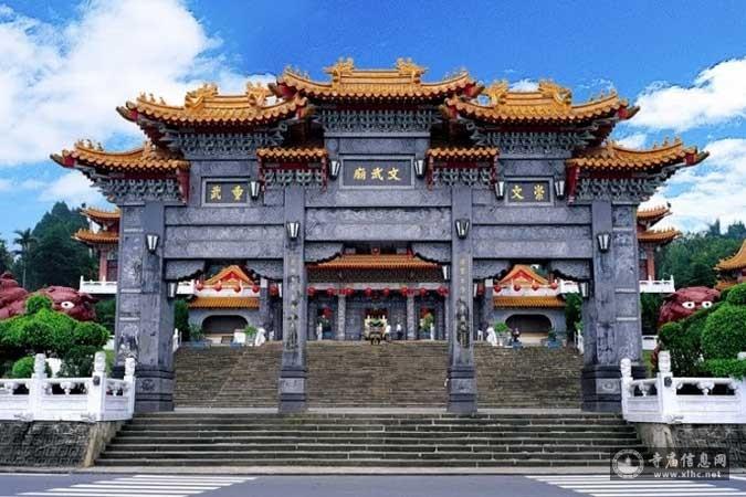台湾南投县日月潭文武庙-寺庙信息网