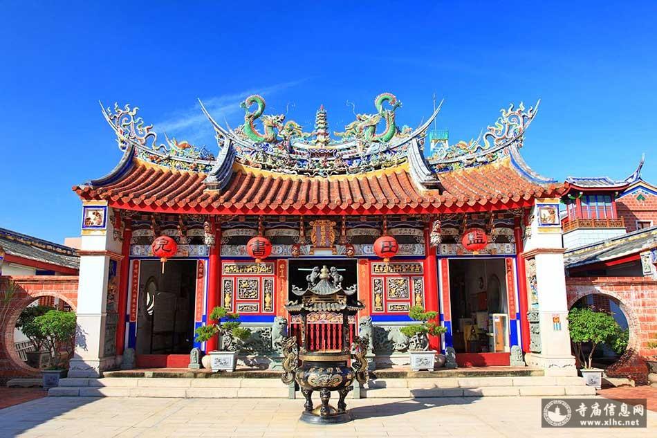 台湾南投县蓝田书院(文昌祠)-寺庙信息网