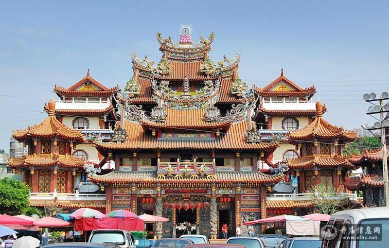 台湾台中县清水镇紫云岩-寺庙信息网