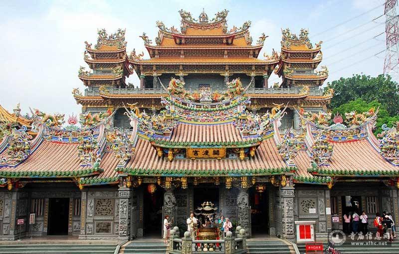 台湾台北市关渡宫-寺庙信息网