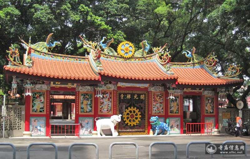 台湾台南市开元寺-寺庙信息网