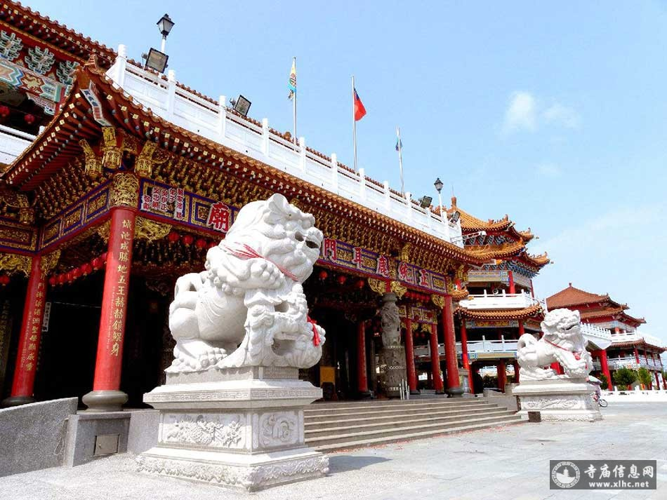 台湾台南正统鹿耳门圣母庙-全世界建筑规模最大的妈祖庙-寺庙信息网