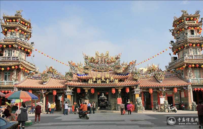 台湾嘉义县新港奉天宫-寺庙信息网