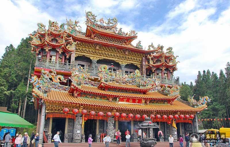 台湾嘉义县阿里山受镇宫-寺庙信息网
