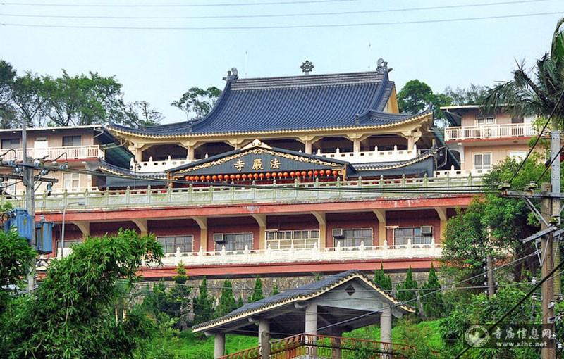 台湾基隆市法严寺-寺庙信息网