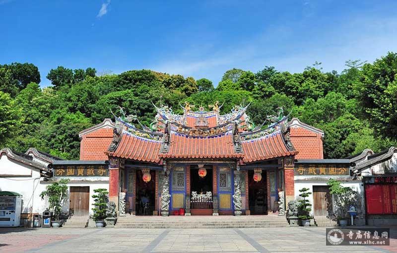 台湾彰化县芬园乡宝藏寺-寺庙信息网