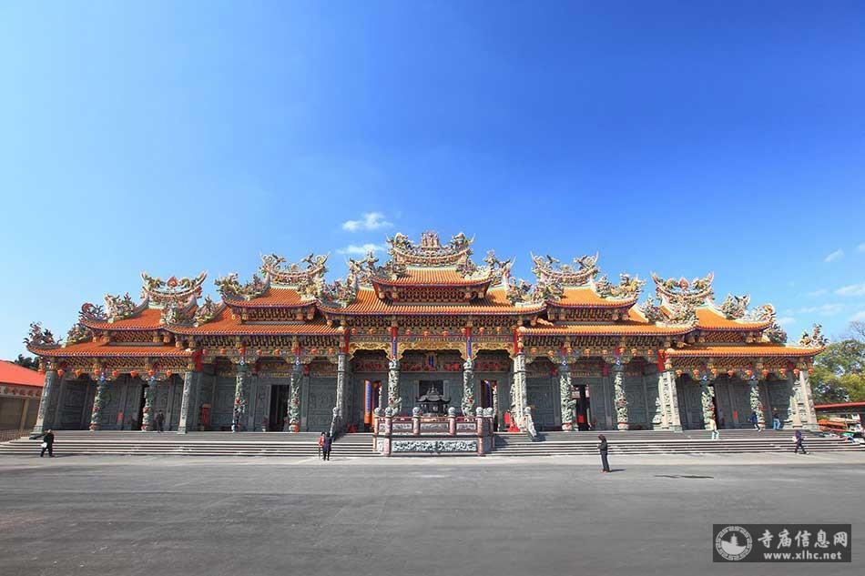 台湾新北市林口竹林山观音寺-寺庙信息网