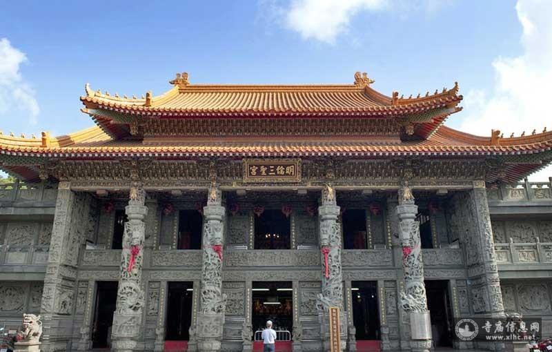 台湾桃园市明伦三圣宫-寺庙信息网