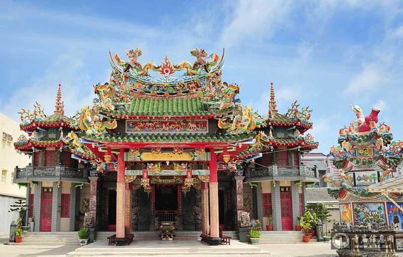 台湾澎湖石泉朱王庙-寺庙信息网