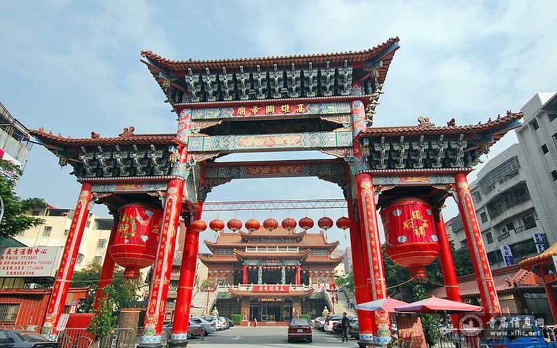 台湾高雄关帝庙-护程网络科技