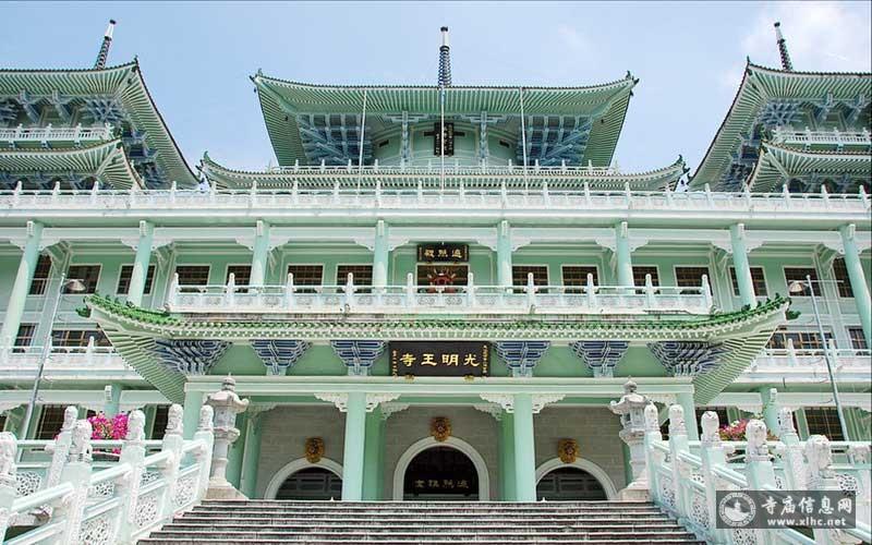 台湾高雄内门五智山光明王寺-寺庙信息网