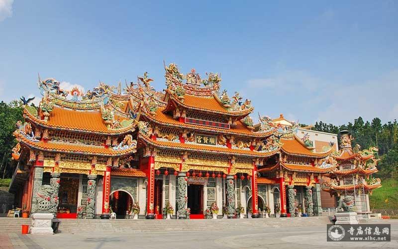 台湾高雄内门顺贤宫-寺庙信息网