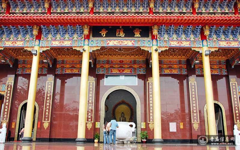 台湾高雄甲仙灵隐寺-寺庙信息网