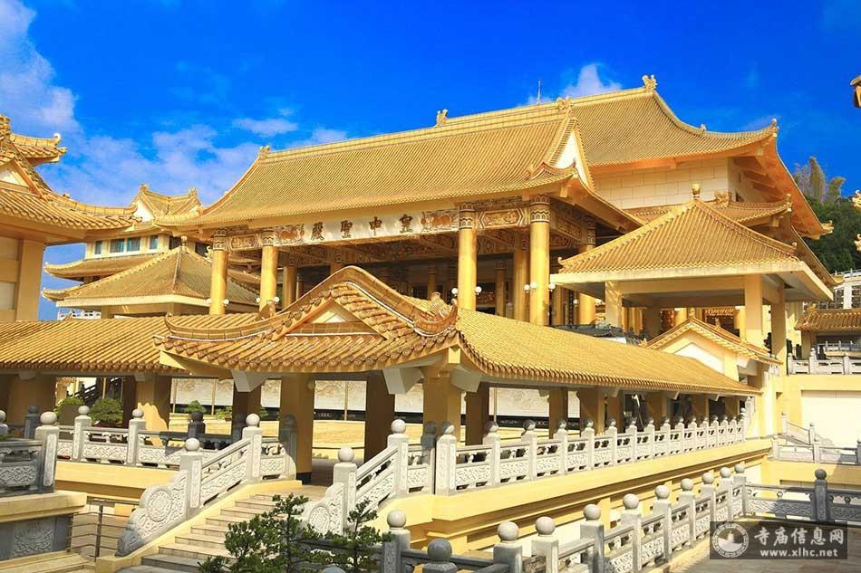 台湾高雄神威天台山-世界最大的一贯道道场-寺庙信息网
