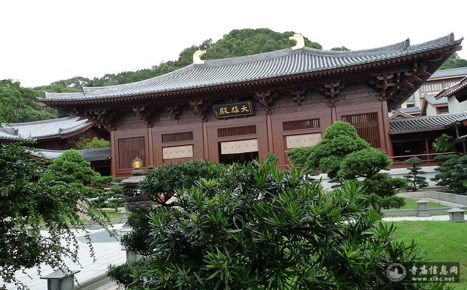 香港九龙志莲净苑-寺庙信息网