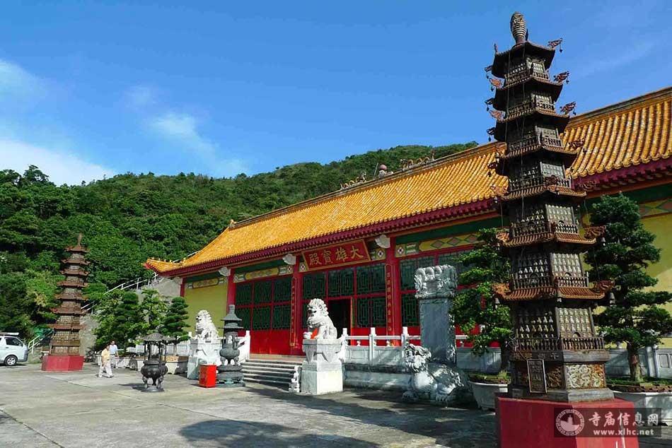 香港西贡湛山寺-寺庙信息网