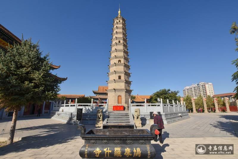 甘肃武威鸠摩罗什寺-寺庙信息网