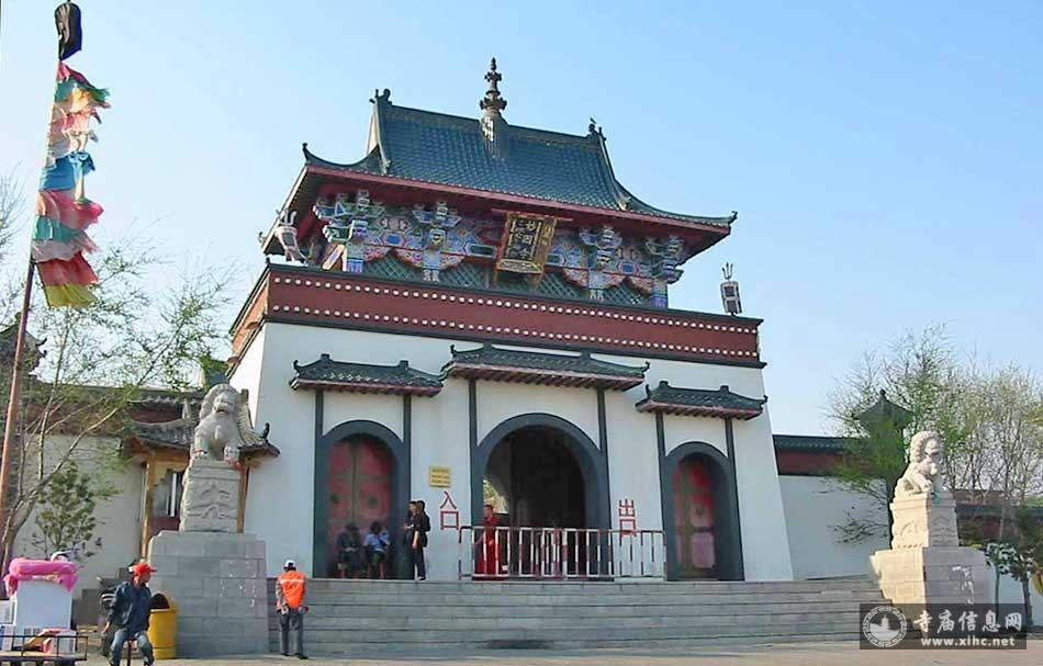 吉林松原妙因寺-吉林省唯一座藏传佛教寺庙-寺庙信息网