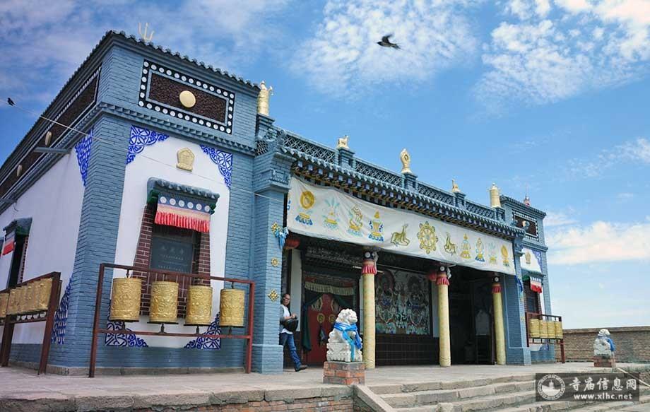 内蒙古阿拉善承庆寺-寺庙信息网
