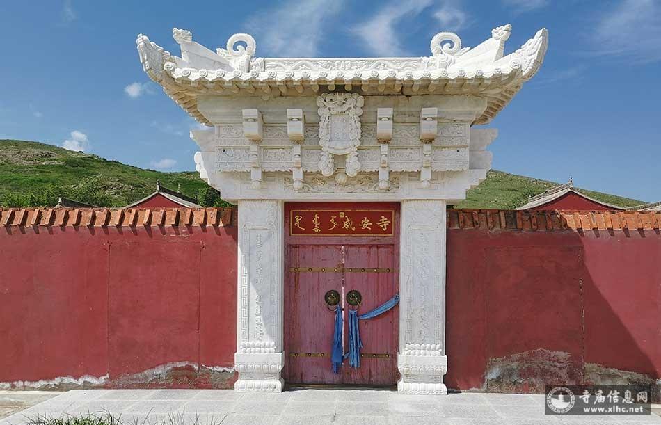 内蒙古锡林郭勒盟玛拉盖庙(咸安寺)-寺庙信息网