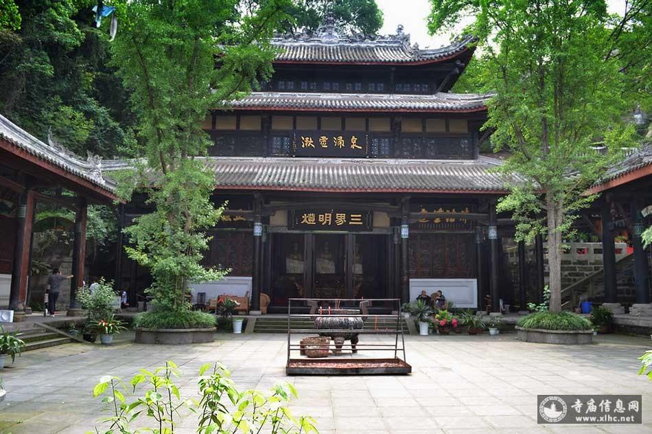 四川内江圣水寺-寺庙信息网
