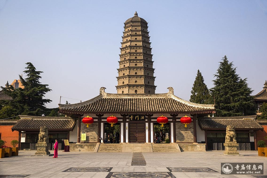 陕西宝鸡法门寺-寺庙信息网