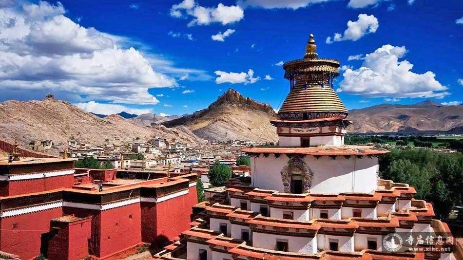 西藏日喀则江孜白居寺-寺庙信息网