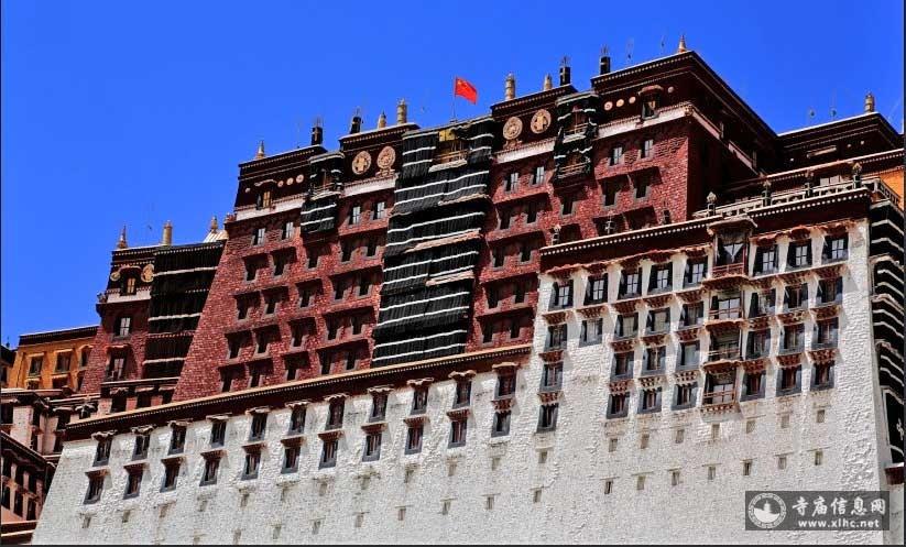 西藏拉萨布达拉宫-寺庙信息网