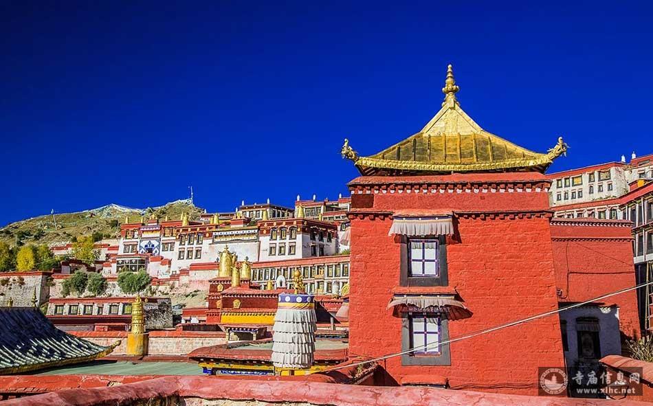 西藏拉萨甘丹寺-寺庙信息网