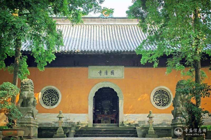 浙江天台山国清寺-寺庙信息网