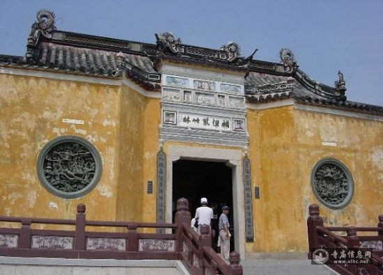 浙江普陀山紫竹林庵-寺庙信息网